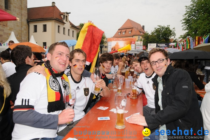 WM 2010 Public Viewing: Deutschland vs Australien (4:0) mit Band Face-of-Vi