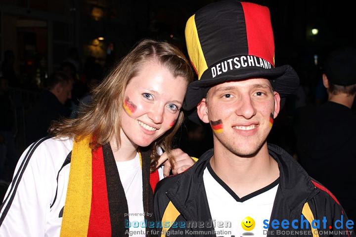 WM2010: Deutschland vs Ghana (1:0): Stockach, 23.06.2010