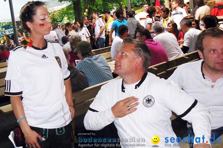 WM2010: Deutschland vs Ghana (1:0) + Martin Kilger: Stockach, 23.06.2010