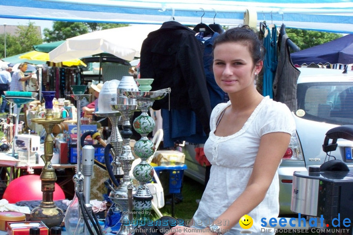 Sommerfest und Flohmarkt: Uttenweiler bei Biberach, 27.06.2010