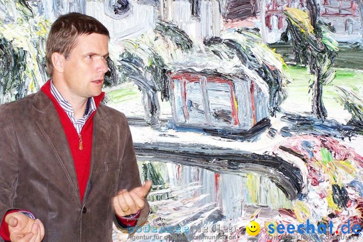 Vernissage mit Eric Decastro im Schloss Mochental: Ehingen, 23.10.2010