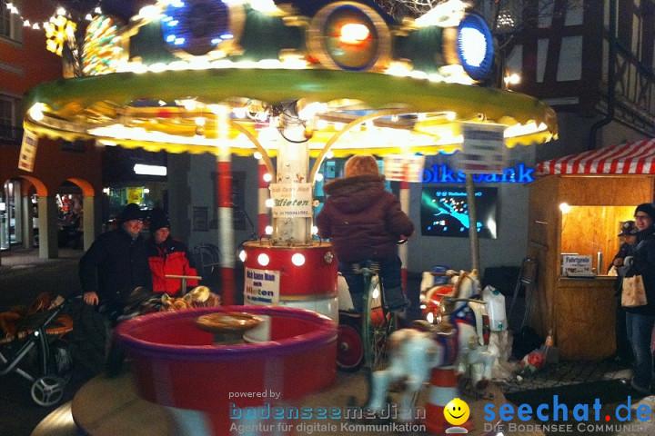Weihnachtsmarkt: Stockach am Bodensee, 12.12.2010
