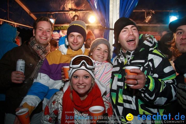 Skimax Perfect Sunday: Warth im Arlberg, 18.12.2010