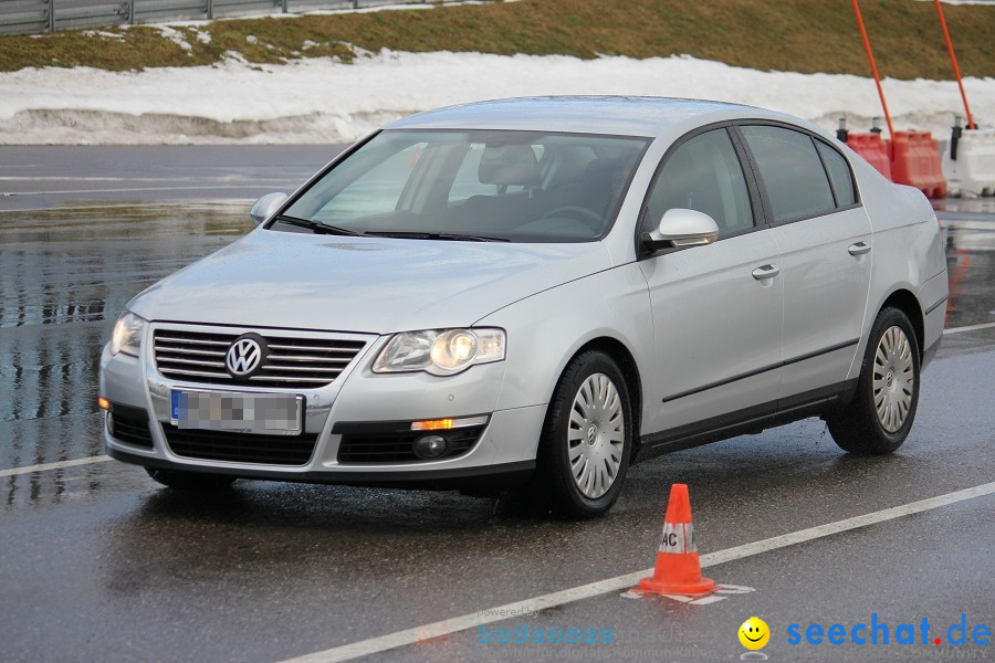 Verkehrssicherheitstag von seechat.de auf der ADAC-Fahrsicherheitsanlage: K