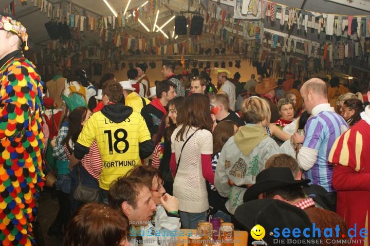 Narrentreffen - Festzelt: Orsingen am Bodensee, 29.01.2011