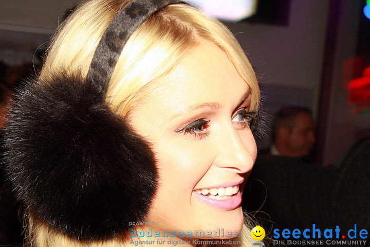 PARIS HILTON im Club PENTHOUSE: Stuttgart, 04.02.2011