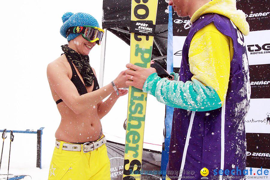 Skimax Perfect Sunday mit Chill and Destroy und Olli Steudter: Warth im Arl