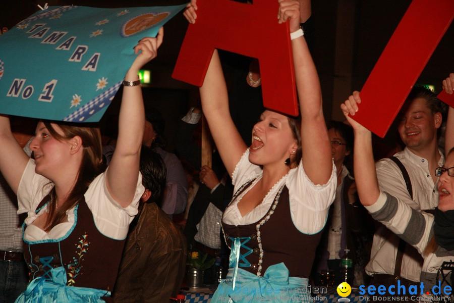 Dirndl Prinzessin 2011 - IBO-Messe: Bayrische7, Jungen Zillertalern: Friedr