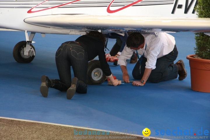 AERO 2011 - Luftfahrtmesse: Friedrichshafen am Bodensee, 16.04.2011