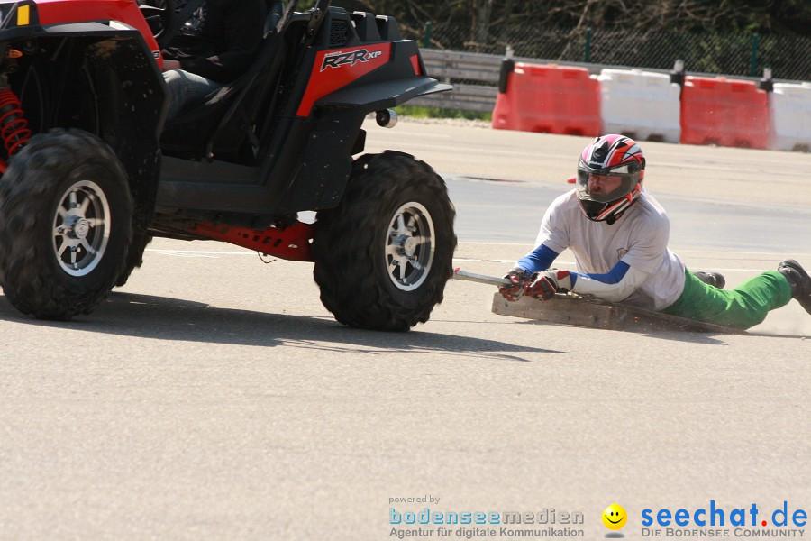 seechat.de Motorrad-Kurventraining: Start-up-Day-ADAC-Fahrsicherheitsanlage