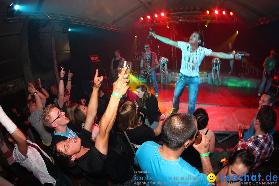 Tanz in den Mai mit ZERO: Liggersdorf am Bodensee, 30.04.2011